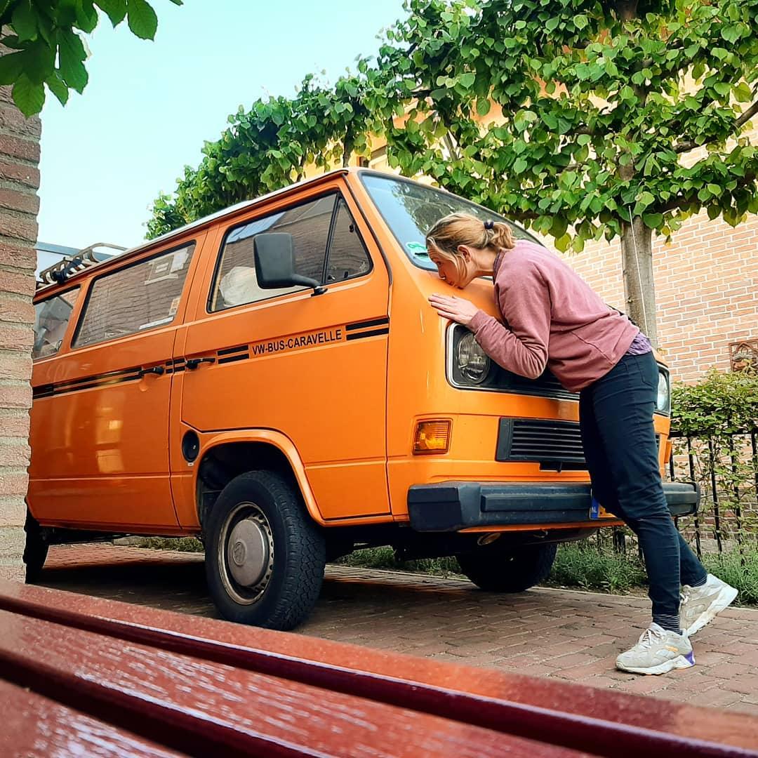 Tonnie met ornaje VW T3